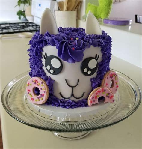 Ten in the bed | cocomelon nursery rhymes & kids songs. Llama Birthday Cake | Cake, Llama birthday, Desserts