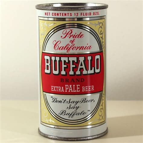 buffalo brand extra pale beer 045 05 at breweriana com
