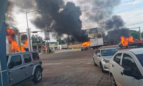 muertos   bloqueos saldo de violencia en culiacan sinaloa