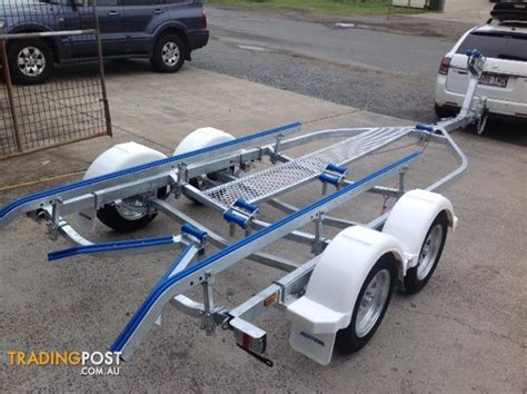 Real X Boat Trailers For Sale by Seatrail 5 6m Tandem Skid Boat Trailer For Sale In Hemmant