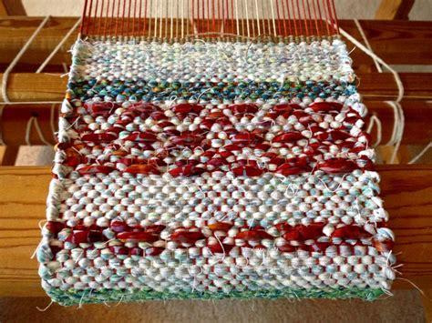 rag rug loom for one mini rag rug warped for