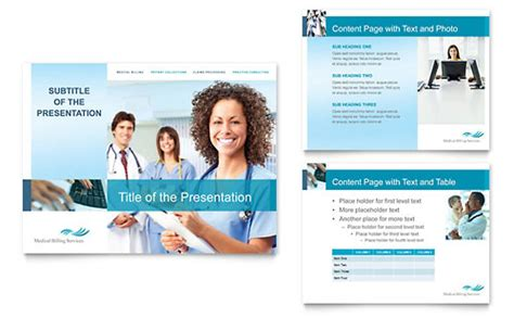 medical billing coding powerpoint  template