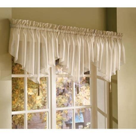 classic voile ascot valance curtain draperycom