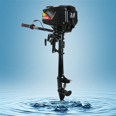Fishing Boat Outboard Engine by New Hangkai 3 6hp 2 Stroke Fishing Boat Engines Outboards
