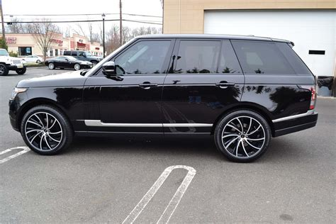 range rover hse  supercharged pre owned