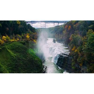 Letchworth State Park - DJI Phantom 3 October 2015 YouTube