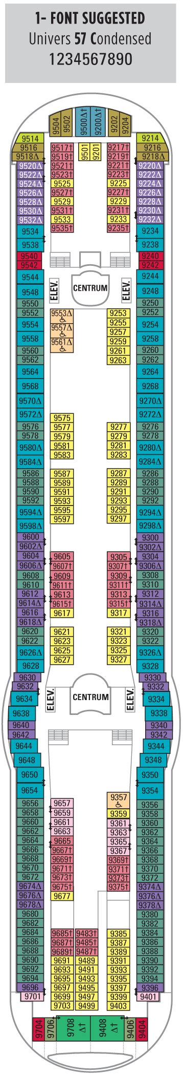Radiance Of The Seas Deck Plan Pdf by Brilliance Of The Seas Deck Seven Royal Caribbean