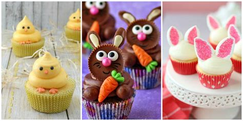 cute easter cupcakes easy ideas  easter cupcake recipes