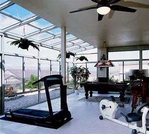 Sunroom Exercise Room Ideas