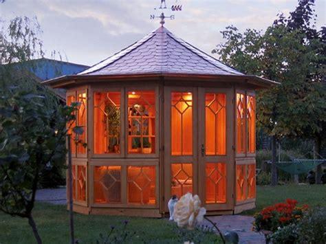 garden pavilion   wood   garden lifestyle