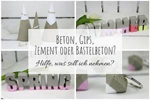Welchen Beton Zum Basteln : beton gips zement oder bastelbeton hilfe was soll ich zum basteln verwenden vor und ~ Buech-reservation.com Haus und Dekorationen