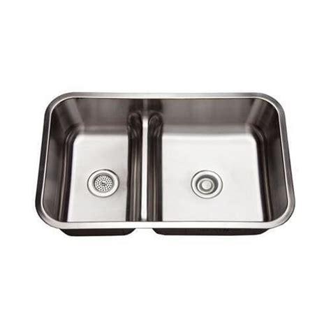 34 stainless steel kitchen sink mirabelle mirurb3421 34 double basin stainless steel