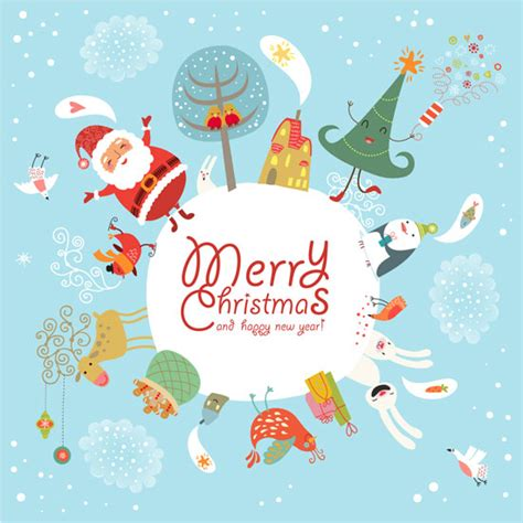 20 most beautiful premium christmas card designs from shutterstock com