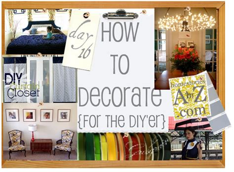 How To Decorate Series {day 16}