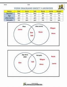 26 Venn Diagram Worksheet With Answers