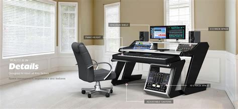 music studio desk workstation home studio desk workstation furniture