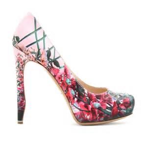designer pumps nicholas kirkwood floral printed platform pumps womenshoes