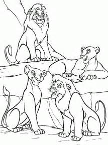 Lion King 2 Coloring Pages