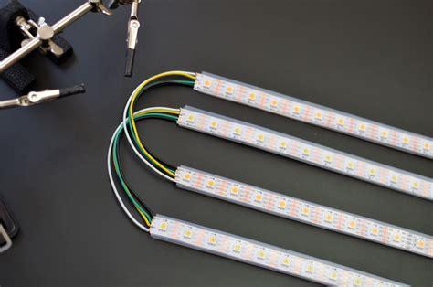 solder led strips roll up light adafruit