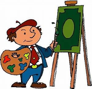 Artist Painter Clipart - Clipart Suggest