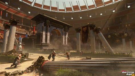 gladiator arena environment fuel ryse son  rome