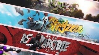 Fortnite youtube one channel template fortnite banniere ytb banner by dustfx download free. Banniere Fortnite Pour Ytb   How To Win V Bucks For Free