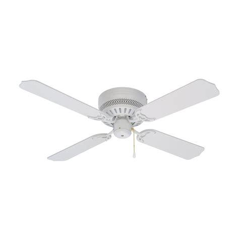 Ceiling Fan Blades White by Litex Cci42ww4 42 In Celeste Flushmount Ceiling Fan Atg