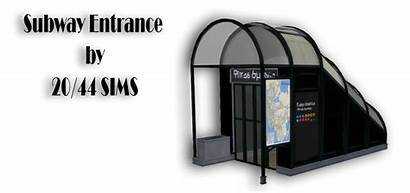 Sims Subway Cc Entrance Huge Ts4 Mods