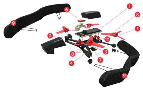 ardronexschema drohnen multicopter quadrocopter