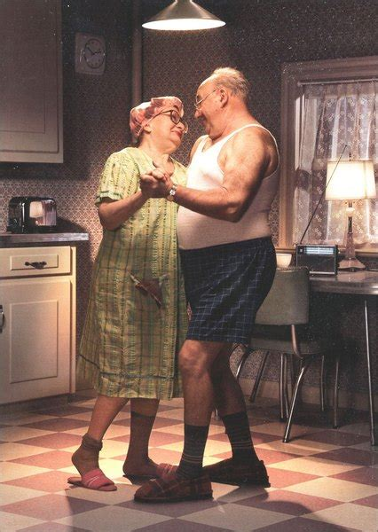 couple dancing  kitchen anniversary card  avanti press