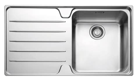 b q sinks kitchen franke laser 1 bowl polished stainless steel single 1415