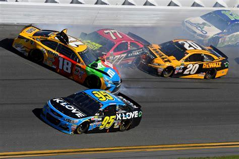 Race Car Wreck by Kyle Busch Blasts Goodyear Following Race Ending Daytona