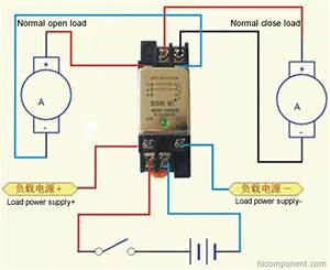 Normally Open Normally Closed Solid State Relay Ssr 10a