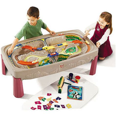 Step2 Deluxe Table by Step2 Deluxe Road And Track Table Walmart