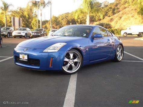 nissan coupe 350z 2003 daytona blue nissan 350z enthusiast coupe 1016911