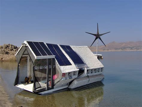 Boat Wind Turbine by Captain Frank Bishop S Innovative Wind Turbine And Solar