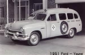 Vintage Ford Ambulance