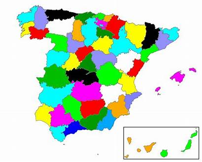 Spain Provinces Names Svg Archivo Commons Wikipedia