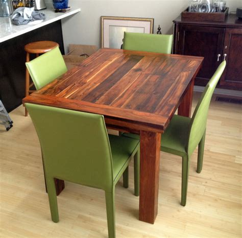 36 X 48 Dining Table With Leaf by Teak Dining Table 36 Quot X 48 Quot 2 Quot Thick Modern Dining