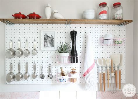 pegboard kitchen organizer how to organize your kitchen 21 brilliant hacks bob vila 1445
