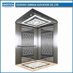 China, Otis, Elevator, Gold, Panoramic, Elevator, Cabin, For, Home