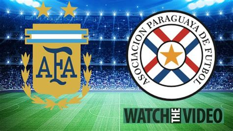 Argentina vs Paraguay free kick-off time, TV channel and ...