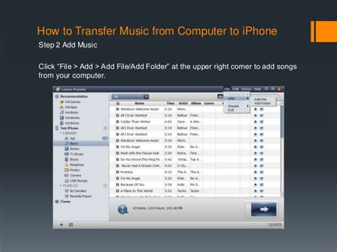 how to transfer songs from computer to iphone how to sync from itunes to iphone 4