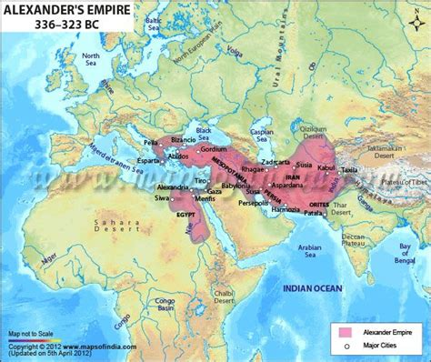 empire conquered  alexander  great