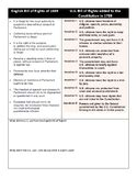 bill of rights worksheet teaching resources teachers pay