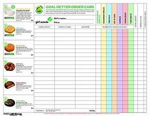 32 girl scout cookies order form again another example for Girl scout order form template