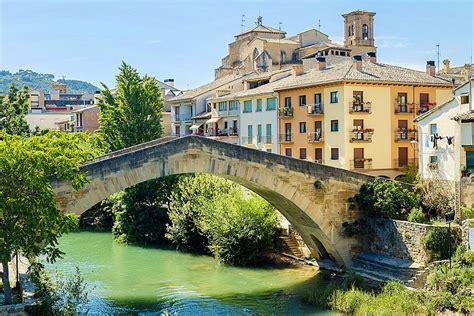 Puente de la Carcel, Camino de Santiago, Estella, Navarre ...