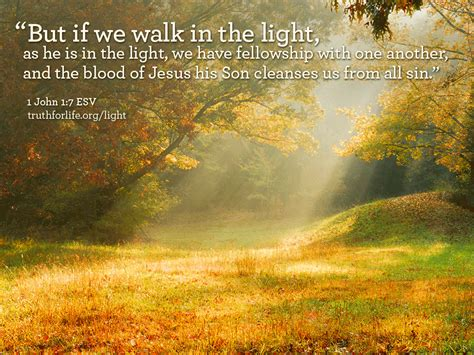 walking in the light wallpaper quot but if we walk in the light quot for