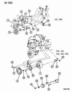 Dodge Ram 2500 Bracket  Front  Mounting  Power Steering