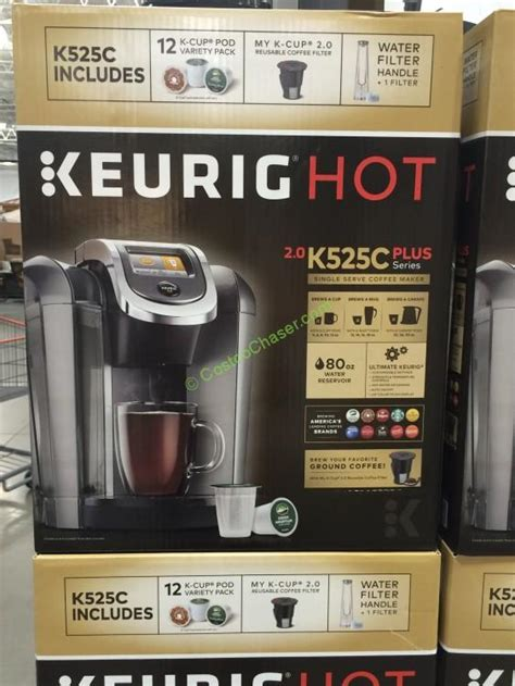 Keurig K525C Coffee Maker with 12 K Cup Pods ? CostcoChaser